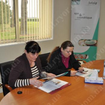 После переговоров и мастер-класса Setalg (Франция)