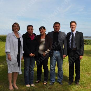 С нашими партнерами Setalg (Франция)