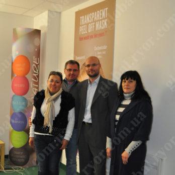 С нашими партнерами на заводе TechNature (Франция)