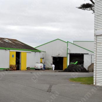 Завод Setalg разгрузка водорослей (Франция)