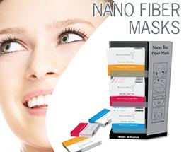 Нанобиофайбер маски